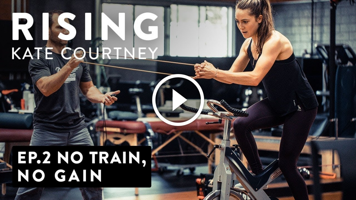 Watch: Rising – No Train, No Gain with Kate Courtney - Singletracks Mountain Bike News