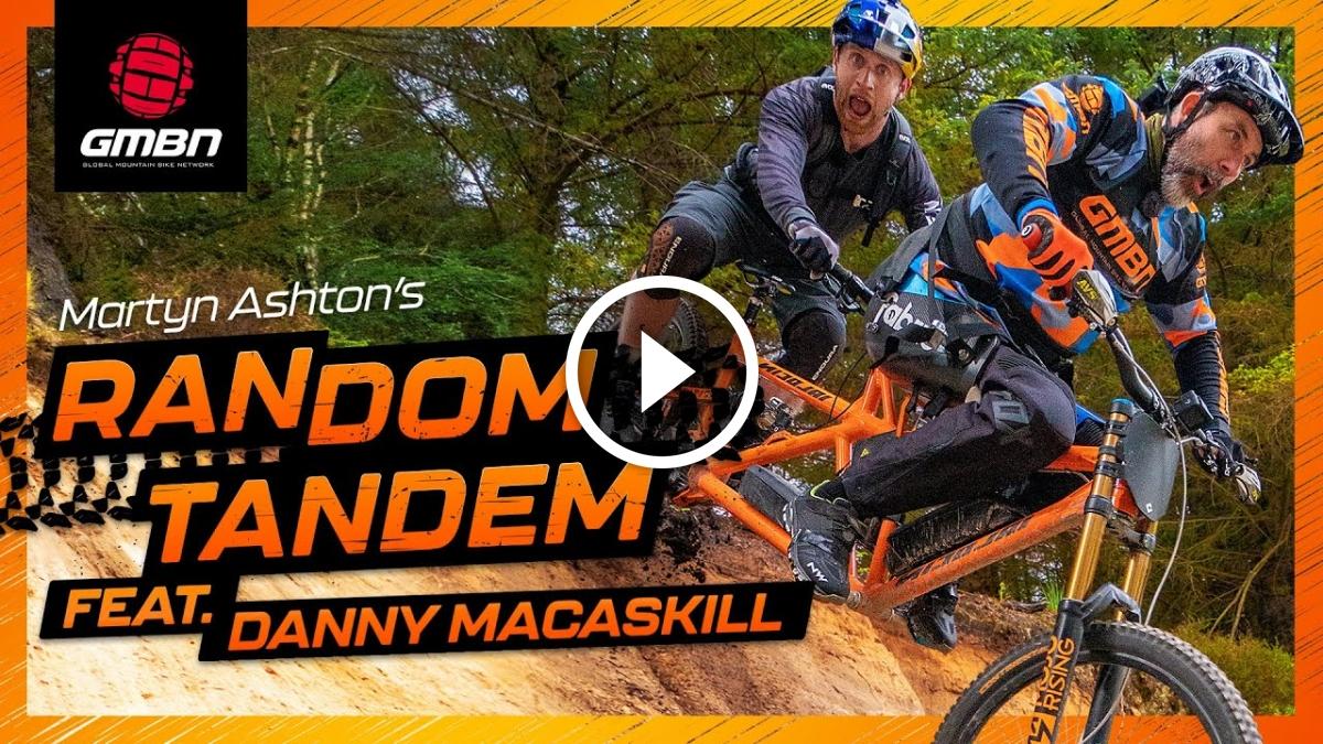 Watch: Danny MacAskill on Martyn Ashton's Random Tandem - Singletracks Mountain Bike News