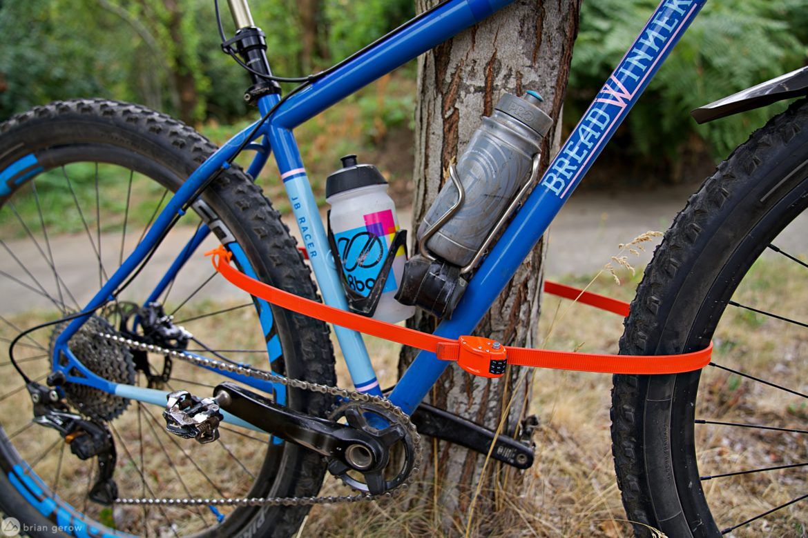 Ottolock: Secure Your Bike at a Campsite, Cafe, or on Your Car - Singletracks Mountain Bike News
