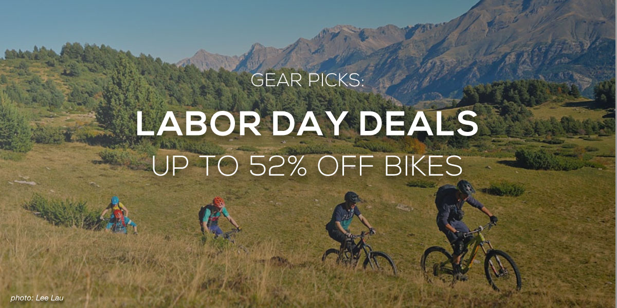 Labor Day Mountain Bike Gear Deals Roundup - Singletracks Mountain Bike News