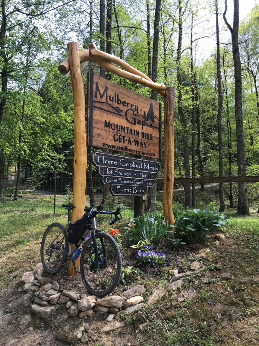 Mulberry Gap Welcome Sign