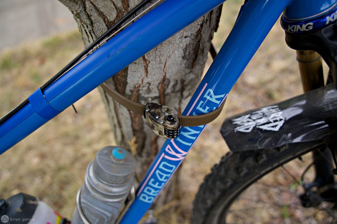 Ottolock: Secure Your Bike at a Campsite, Cafe, or on Your