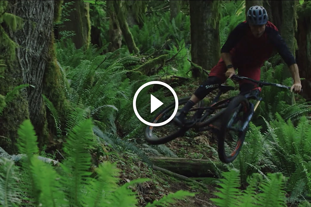 Watch: SHRED. Athlete KC Deane - from Snow to Loam + Special Offer for 50% Off Pads - Singletracks Mountain Bike News