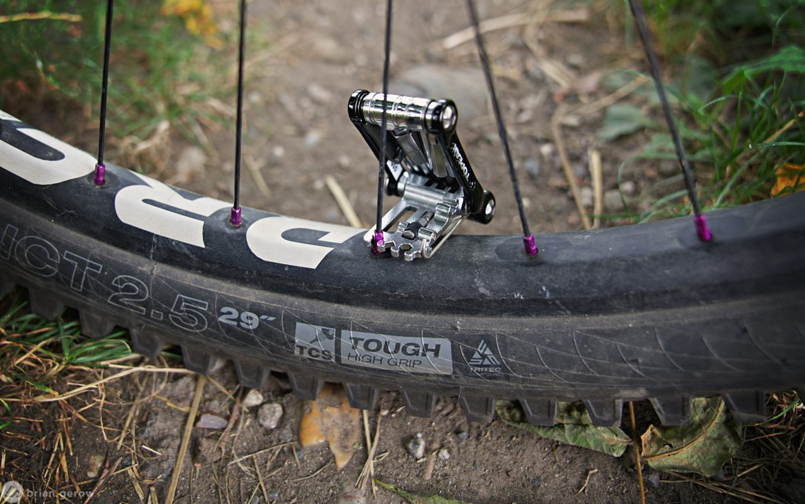 How to Use the Spoke Wrench on Your Multi-Tool to Trail True a Wheel - Singletracks Mountain Bike News