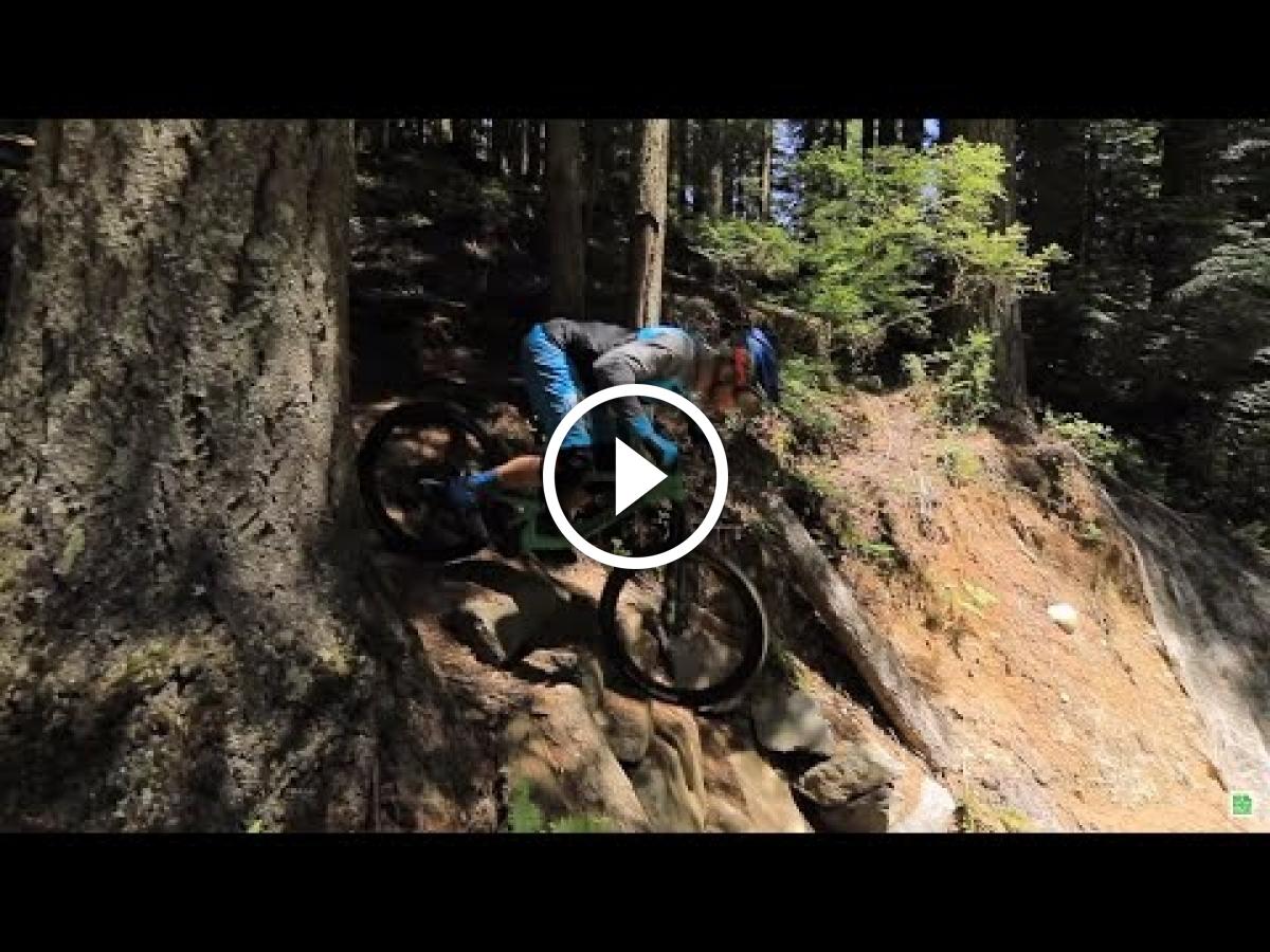 Watch: How to Ride Steep Descents [MTB Skills] - Singletracks Mountain Bike News