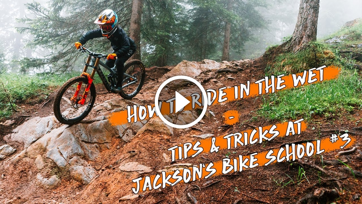Watch: How To Mountain Bike Wet Roots and Rocks, with Jackson Goldstone - Singletracks Mountain Bike News