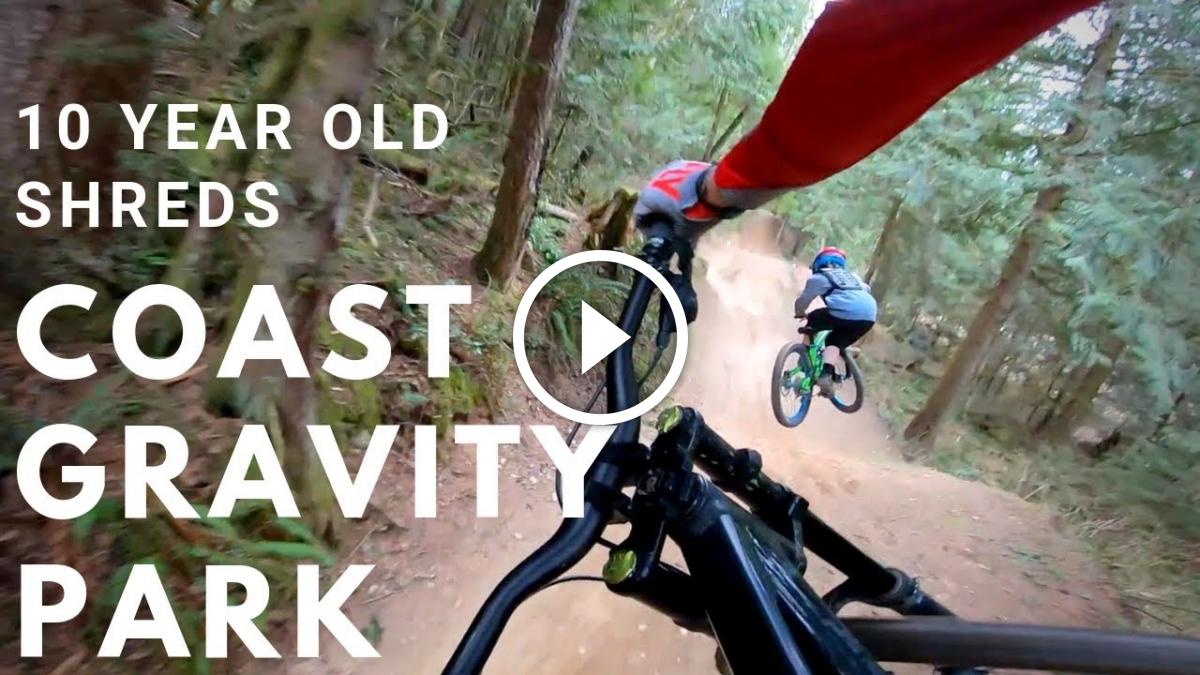 Watch: 10-year-old Shreds Massive Mountain Bike Jumps at Coast Gravity Park - Singletracks Mountain Bike News