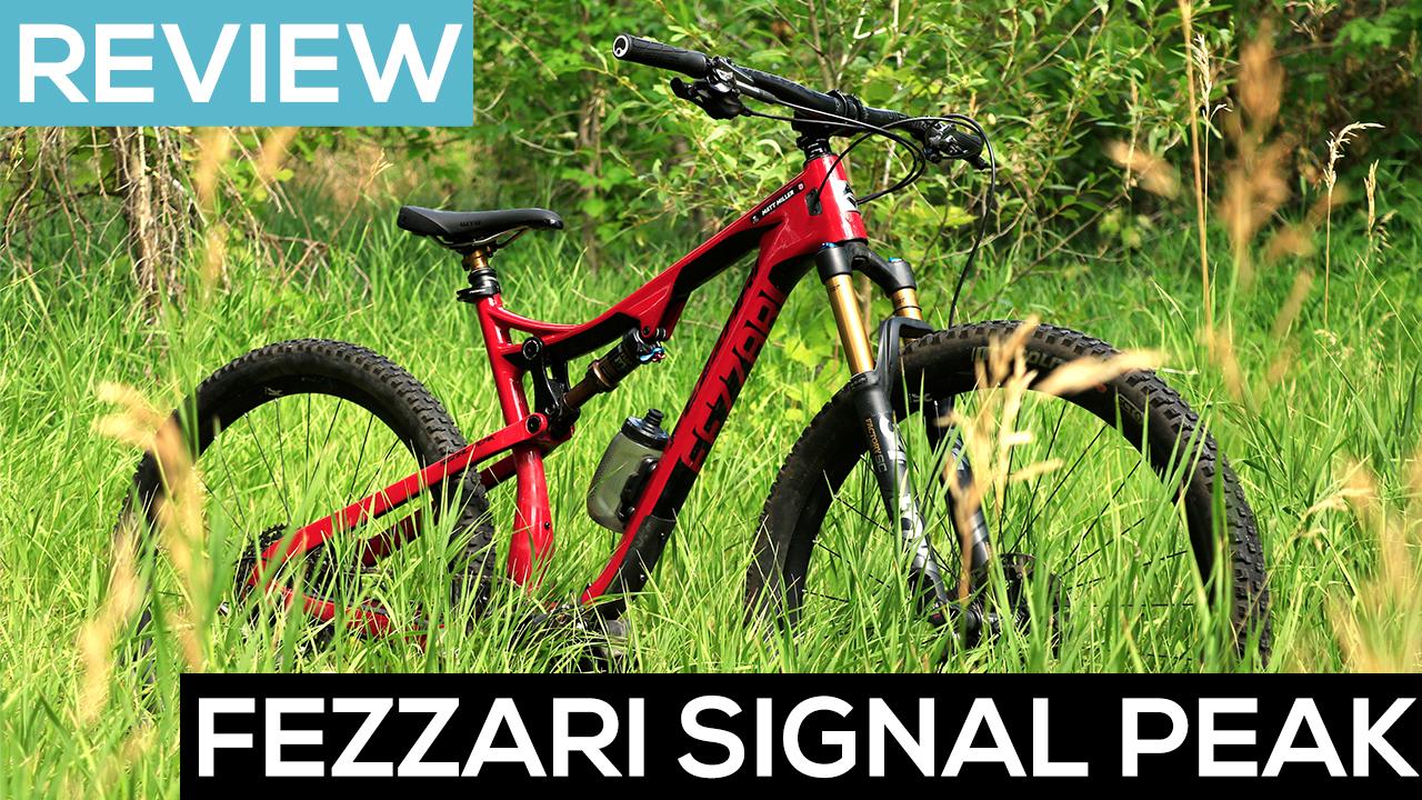 The Fezzari Signal Peak Trail Bike, in Action [Video Review] - Singletracks Mountain Bike News