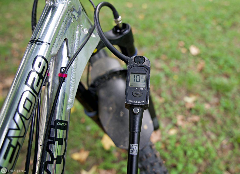 3 Digital Shock Pumps from Lezyne, RockShox, and Syncros, Reviewed - Singletracks Mountain Bike News