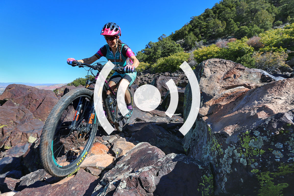 Sonya Looney Talks Mountain Bike Nutrition, Risk Taking, and Competition - Singletracks Mountain Bike News