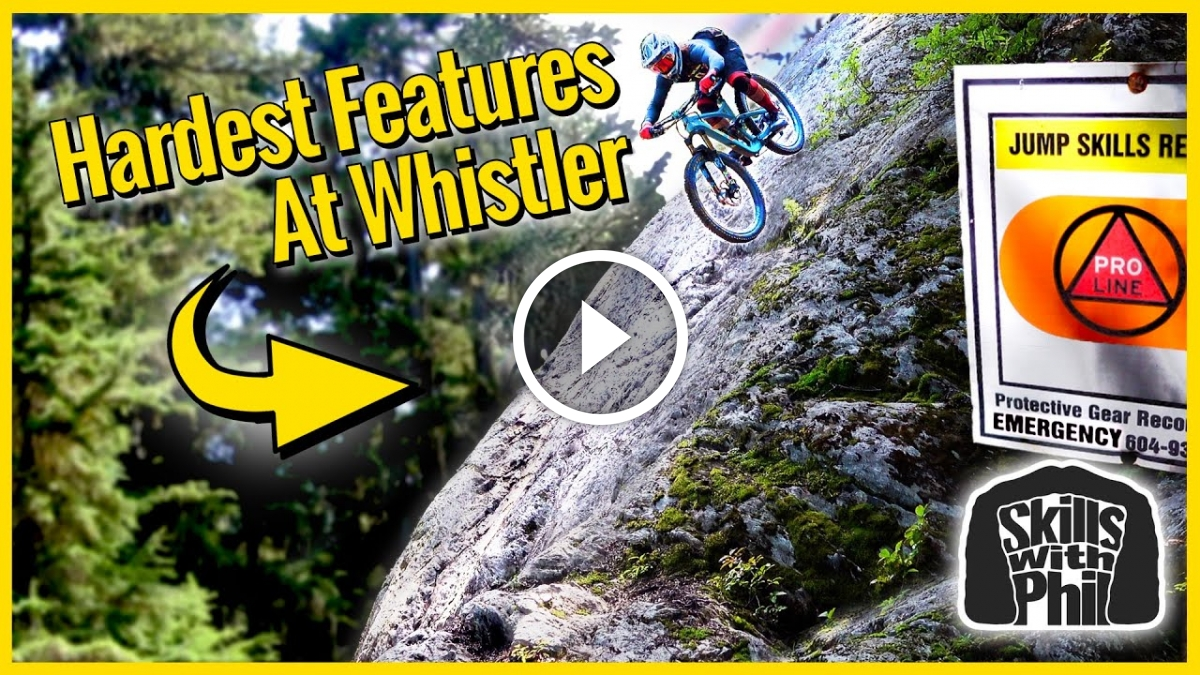 Watch: Riding the Scariest Features at Whistler Bike Park - Singletracks Mountain Bike News