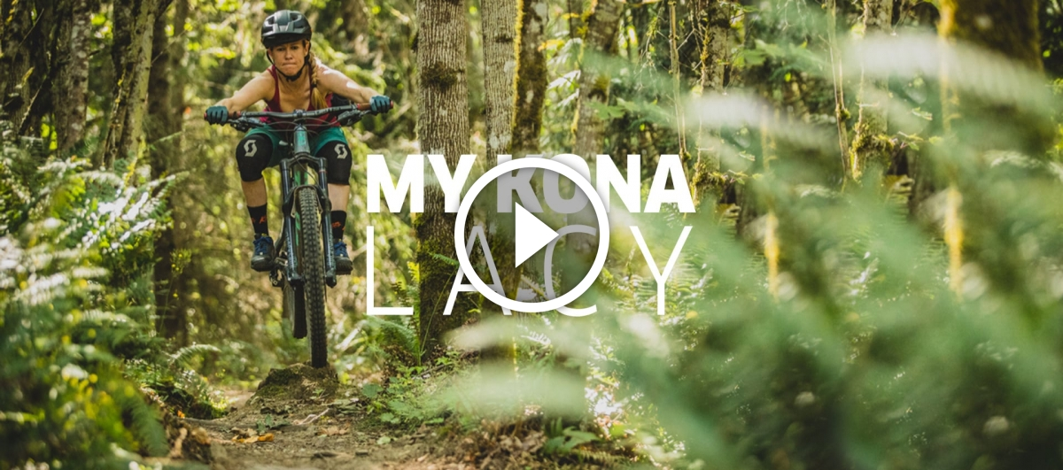 Watch: My Kona, With Lacy Kemp and her Trail Dog, Roscoe - Singletracks Mountain Bike News