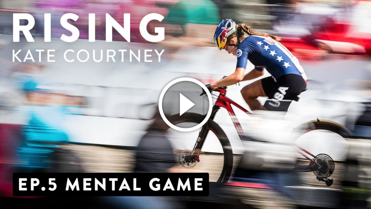 Watch: The Mental Game with Kate Courtney [Rising Series] - Singletracks Mountain Bike News
