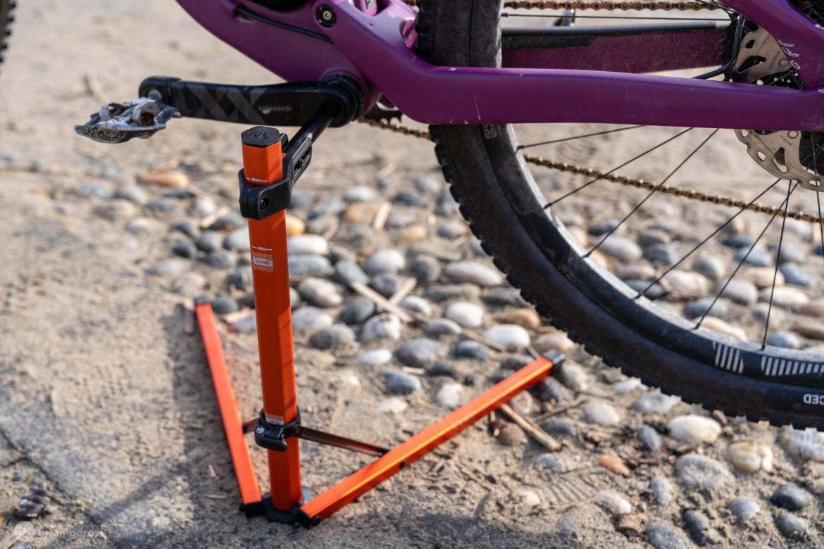 The Granite Design Hex Stand Offers a Foldable, Lightweight way to Prop up Your Bike - Singletracks Mountain Bike News