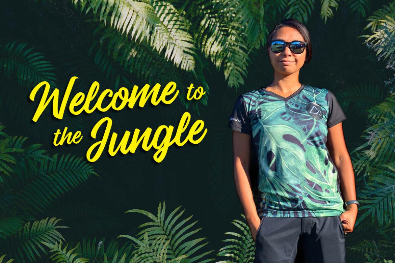 Jungle Print MTB Jersey