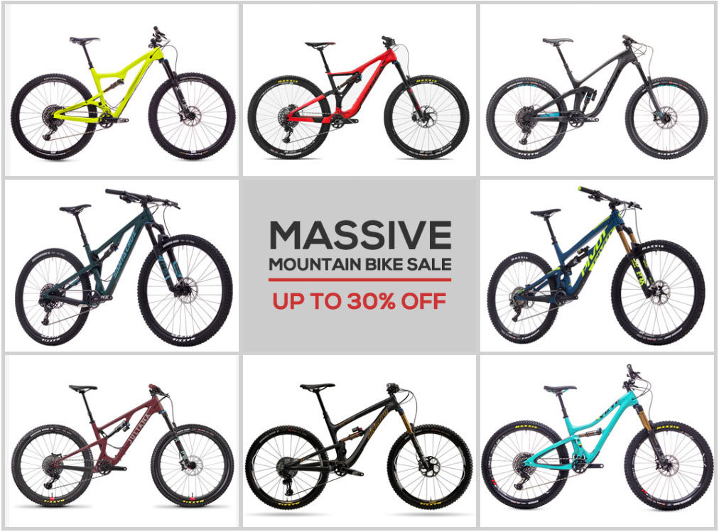 These are the Best Deals on Santa Cruz and Top Brand Mountain Bikes Right Now - Singletracks Mountain Bike News