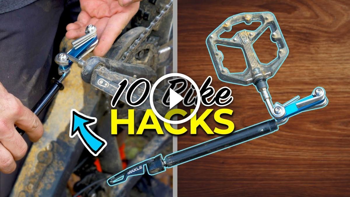 Watch: The 10 Newest Hacks and Tips for Mountain Bikers - Singletracks Mountain Bike News