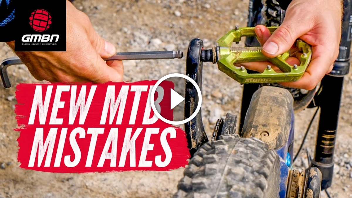 Watch: 8 Mistakes All New Mountain Bikers Make