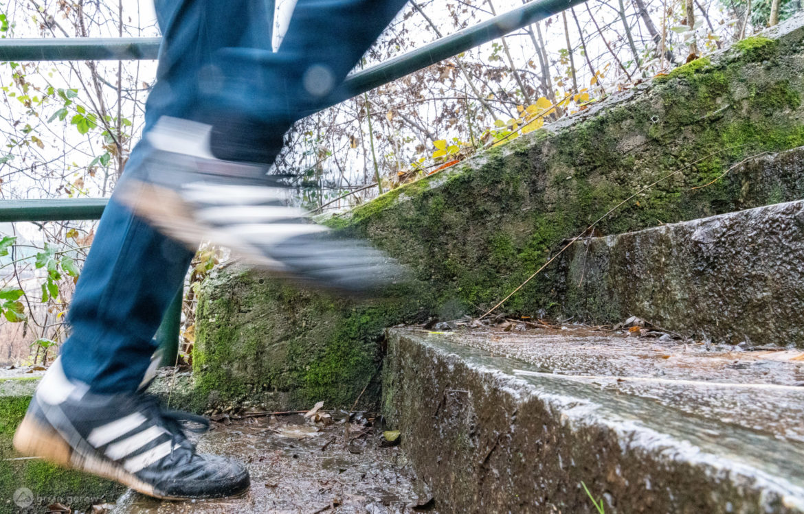 Running Stairs in the Winter is a Great Off-season Workout - Singletracks Mountain Bike News
