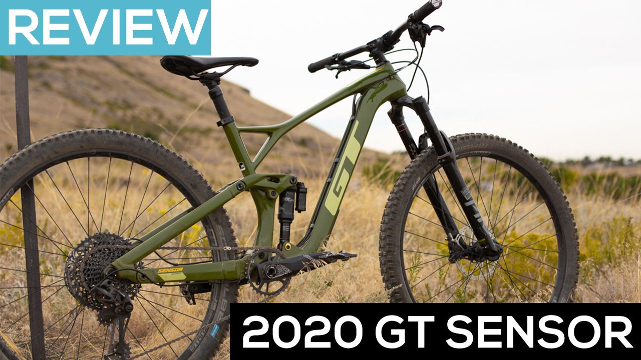 2020 GT Sensor Mountain Bike - A Trail Bike to Satisfy All Needs [Video Review] - Singletracks Mountain Bike News