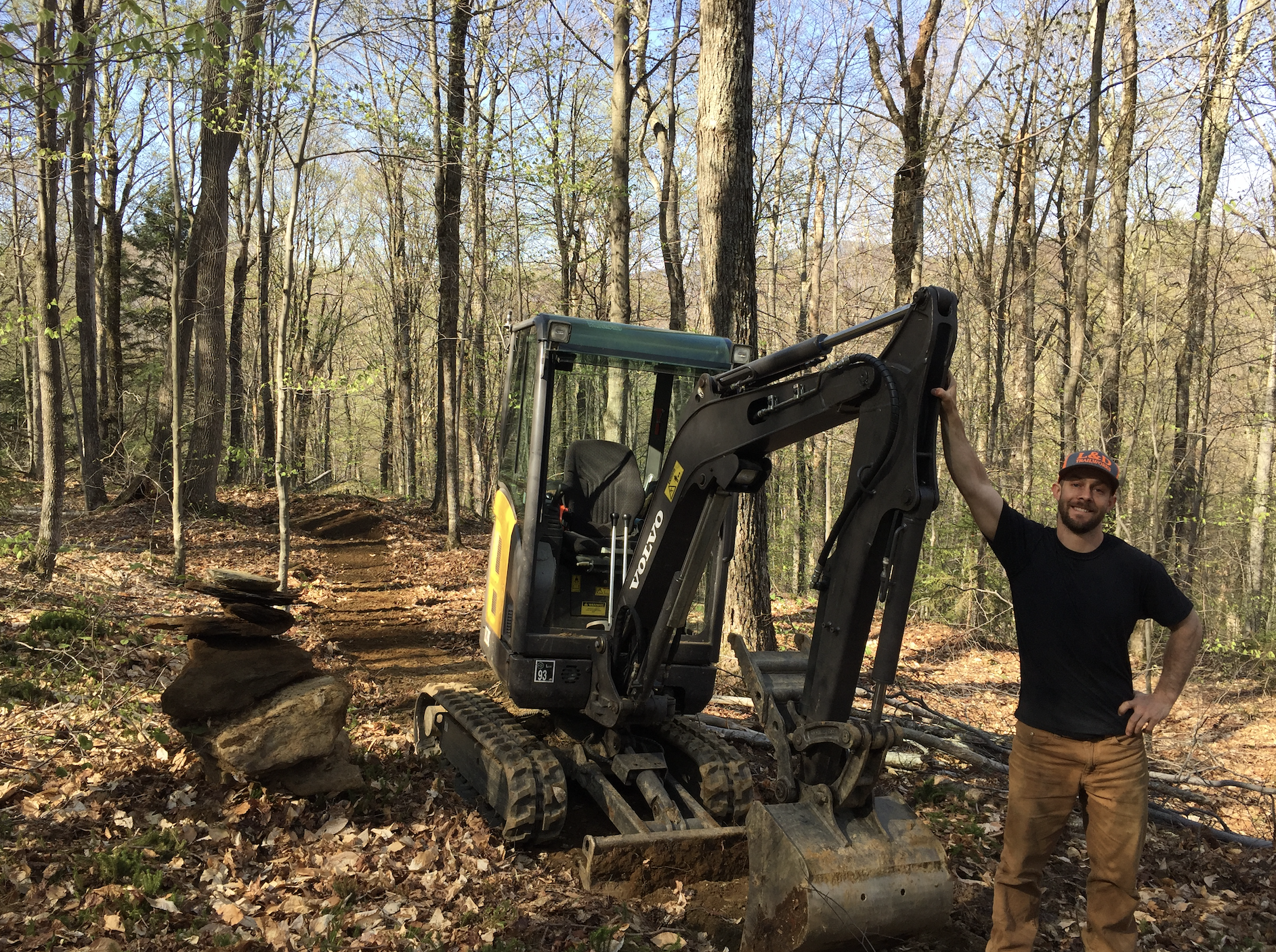 Trail Building is an Art Form for One of Vermont's Most Well-Known Diggers - Singletracks Mountain Bike News