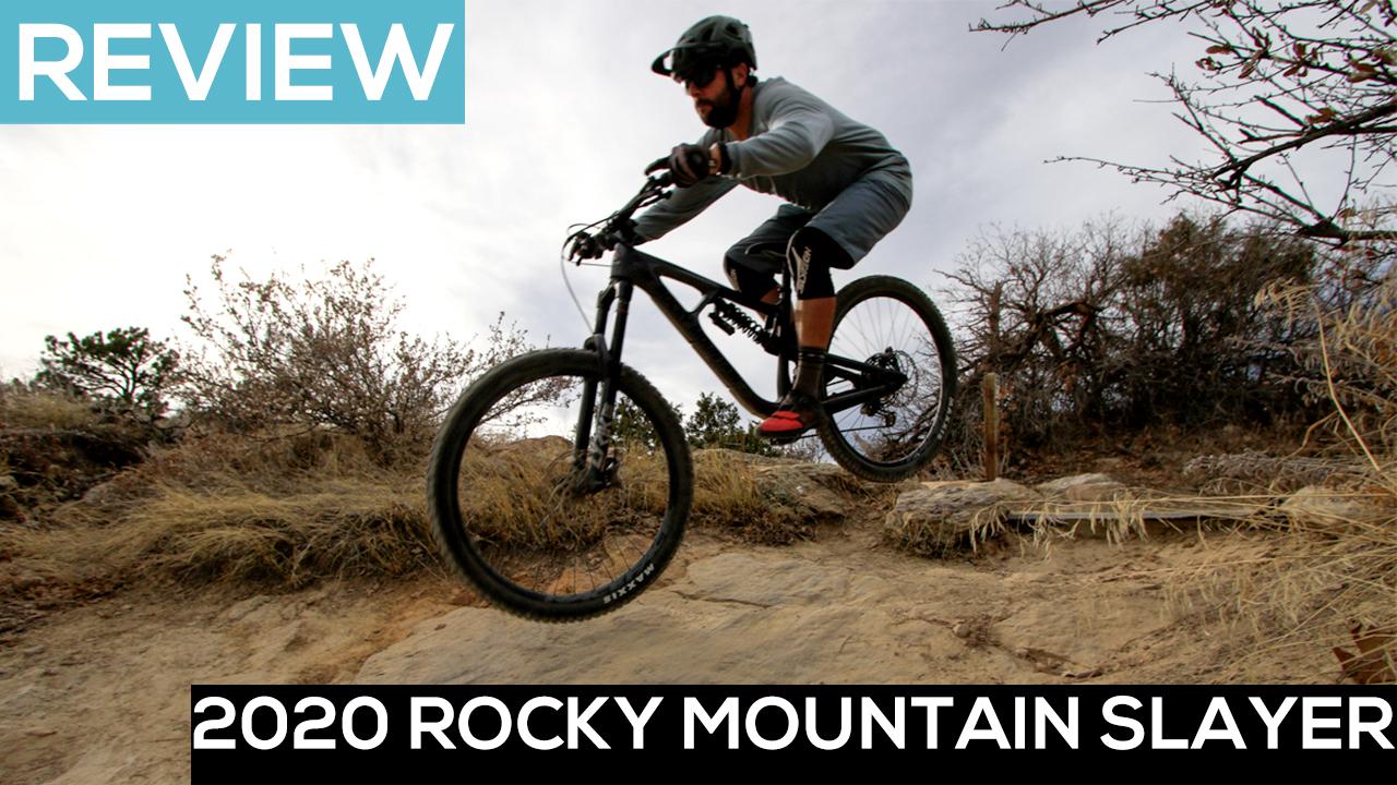 The 2020 Rocky Mountain Slayer Mountain Bike Preys on Gnar [Video Review] - Singletracks Mountain Bike News