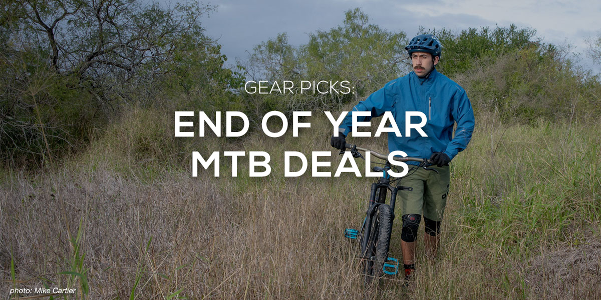 End of Year Mountain Bike Deals - Singletracks Mountain Bike News