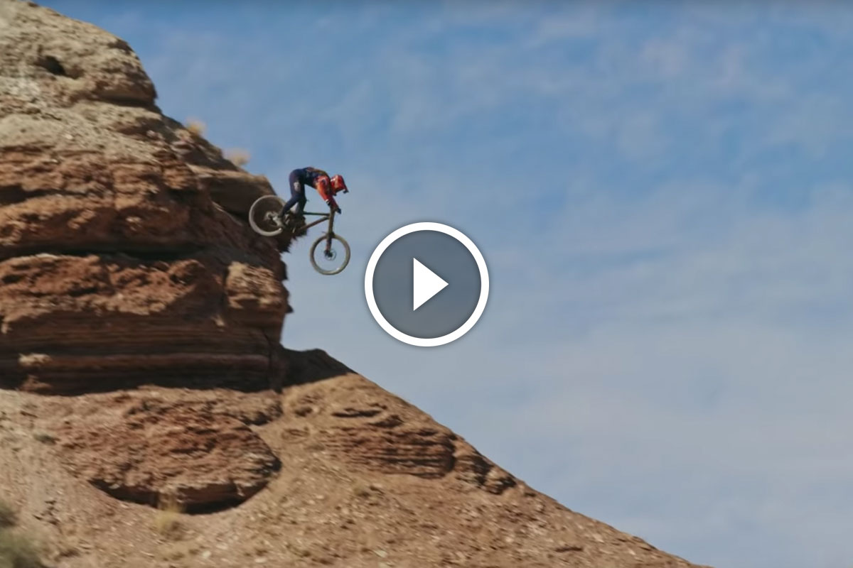Watch: Pro Women Test Riding Rampage-style Lines in Utah - Singletracks Mountain Bike News