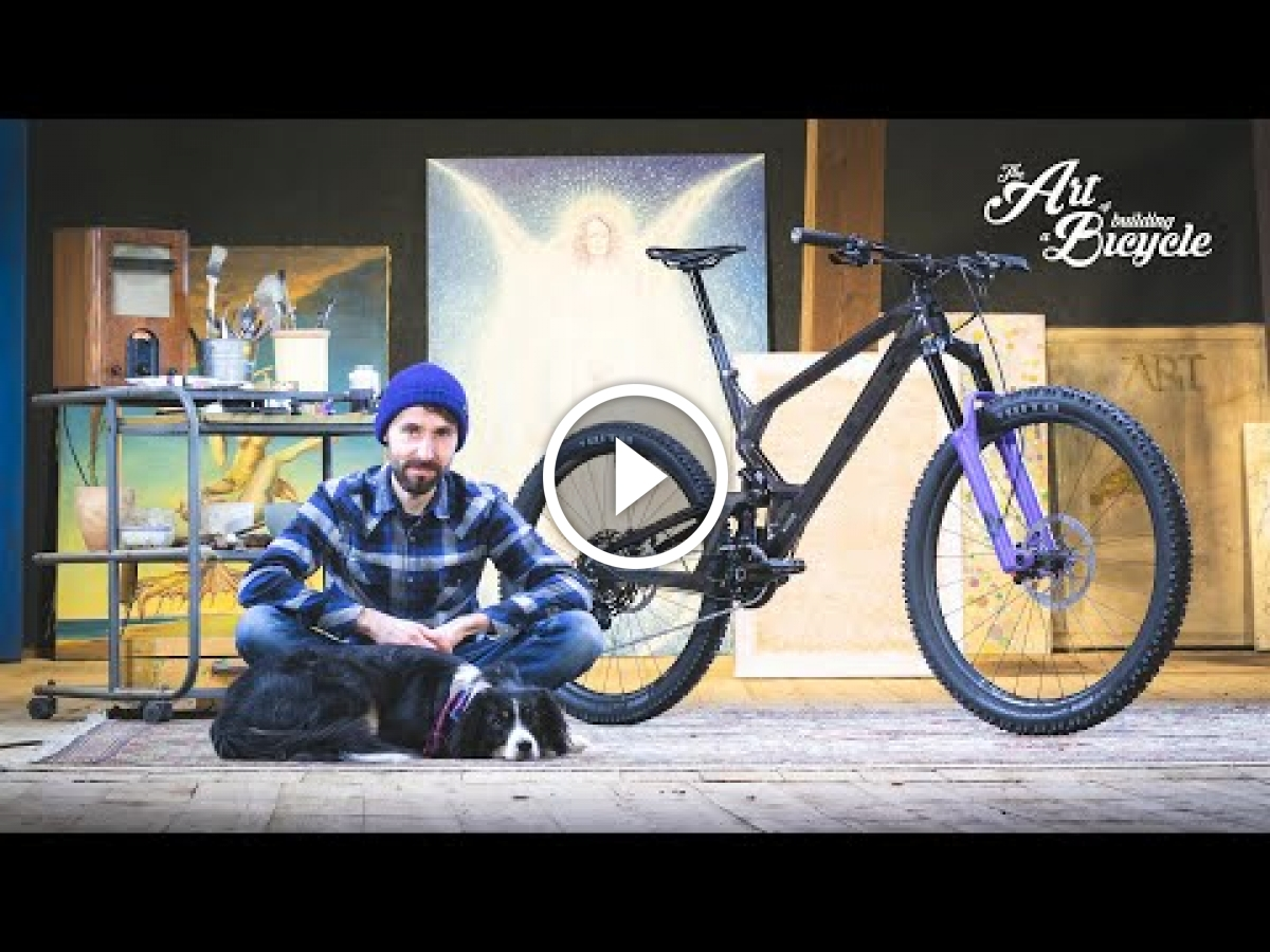 Watch: The Art of Building a Bicycle - Antidote Carbonjack Mullet Bike - Singletracks Mountain Bike News
