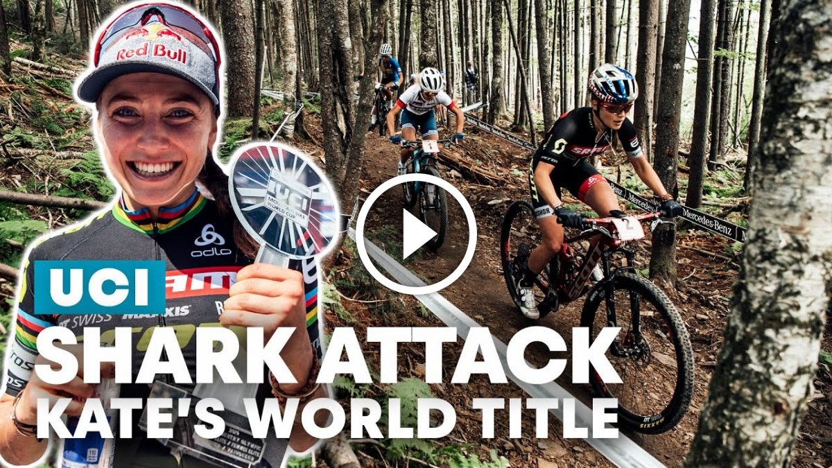 Watch: Becoming an XCO Champion - Kate Courtney's Battle for the 2019 UCI MTB World Cup Title - Singletracks Mountain Bike News