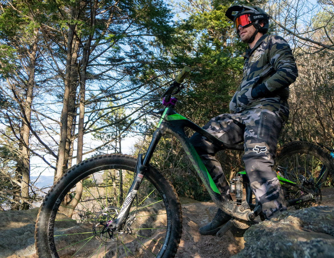 This Fox Kit Was a Winter Mountain Biking Game Changer - Singletracks Mountain Bike News