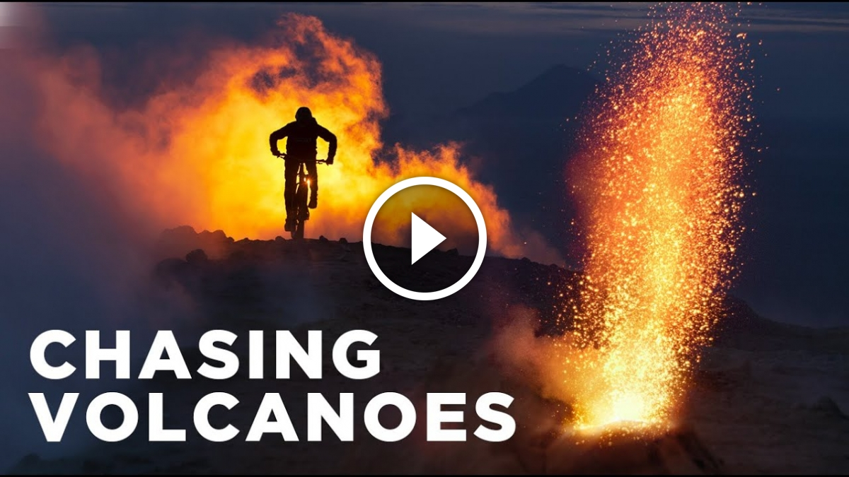 Chasing Volcanoes on a Mountain Bike with Kilian Bron [Video] - Singletracks Mountain Bike News
