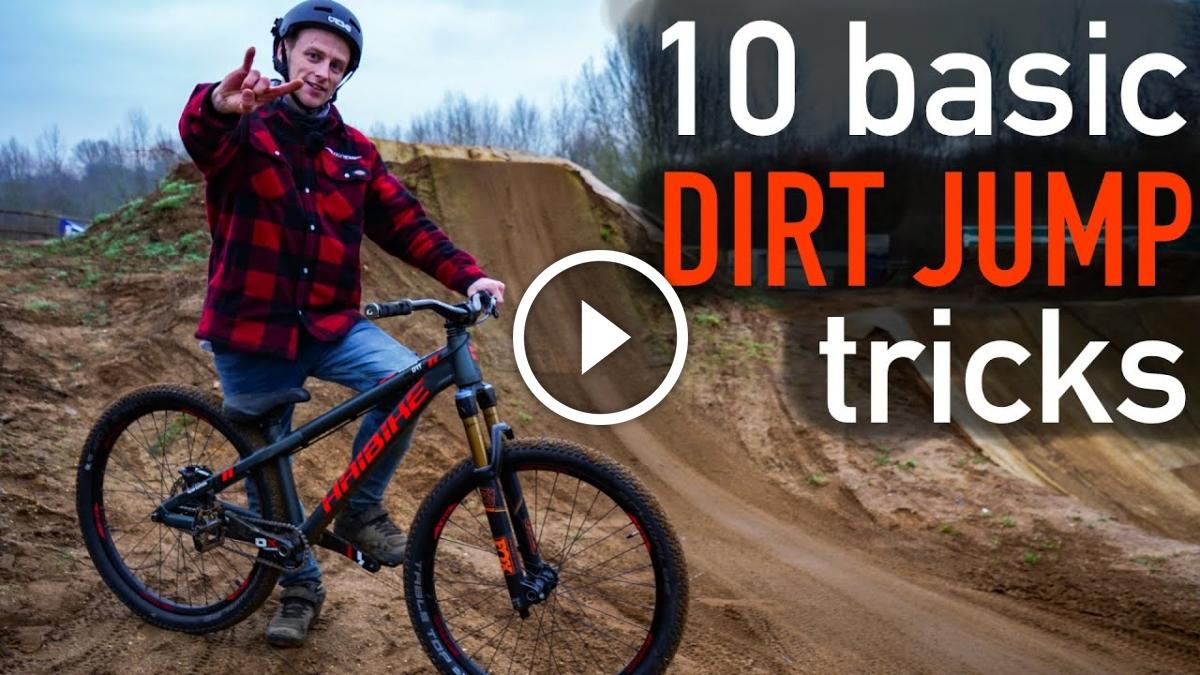 10 Basic Dirt Jump Tricks [Video] - Singletracks Mountain Bike News