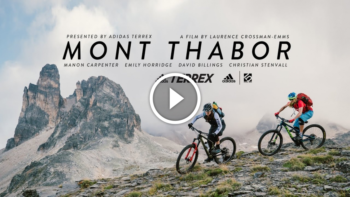 Watch: Manon Carpenter and Emily Horridge Ride Mont Thabor in the French Alps - Singletracks Mountain Bike News