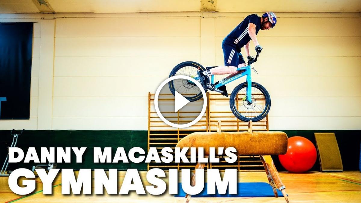 Watch: Danny MacAskill's Gymnasium - Singletracks Mountain Bike News