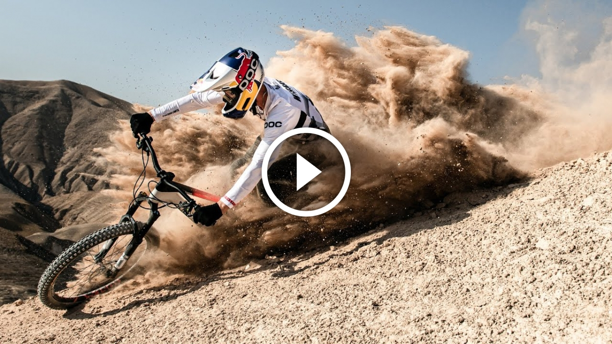 Israel Is Fabio Wibmer's Playground [Video] - Singletracks Mountain Bike News