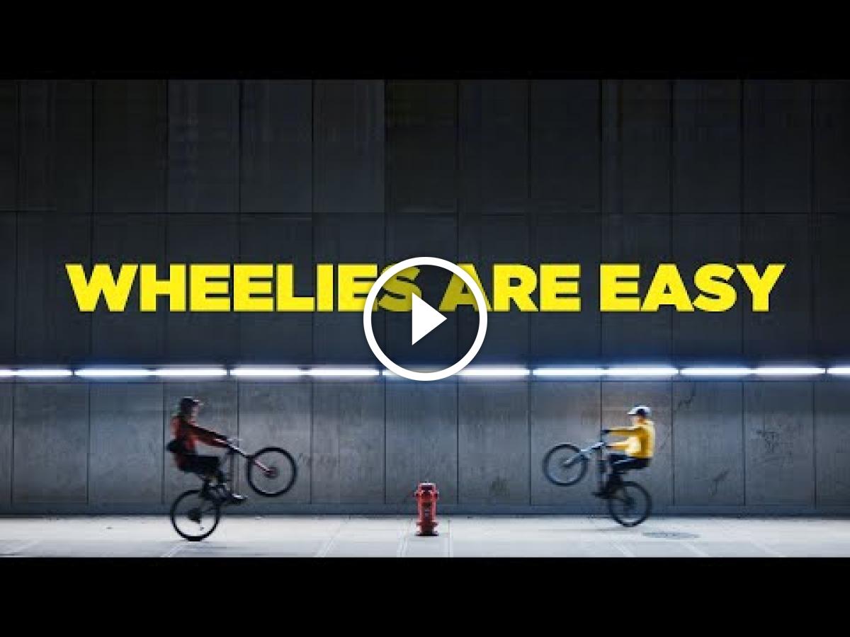 Mountain Bike Wheelies Are Easy [Video] - Singletracks Mountain Bike News