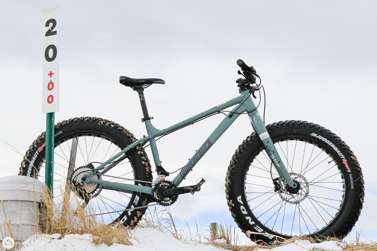 In for Testing: The Diamondback El Oso Dos Fat Bike - Singletracks Mountain Bike News
