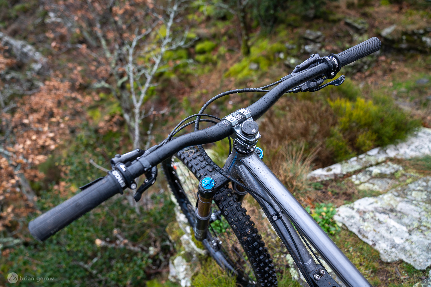 The Production Privee Shan N°5 is a Unique Steel Full Suspension Mountain Bike [Test Ride Review] - Singletracks Mountain Bike News