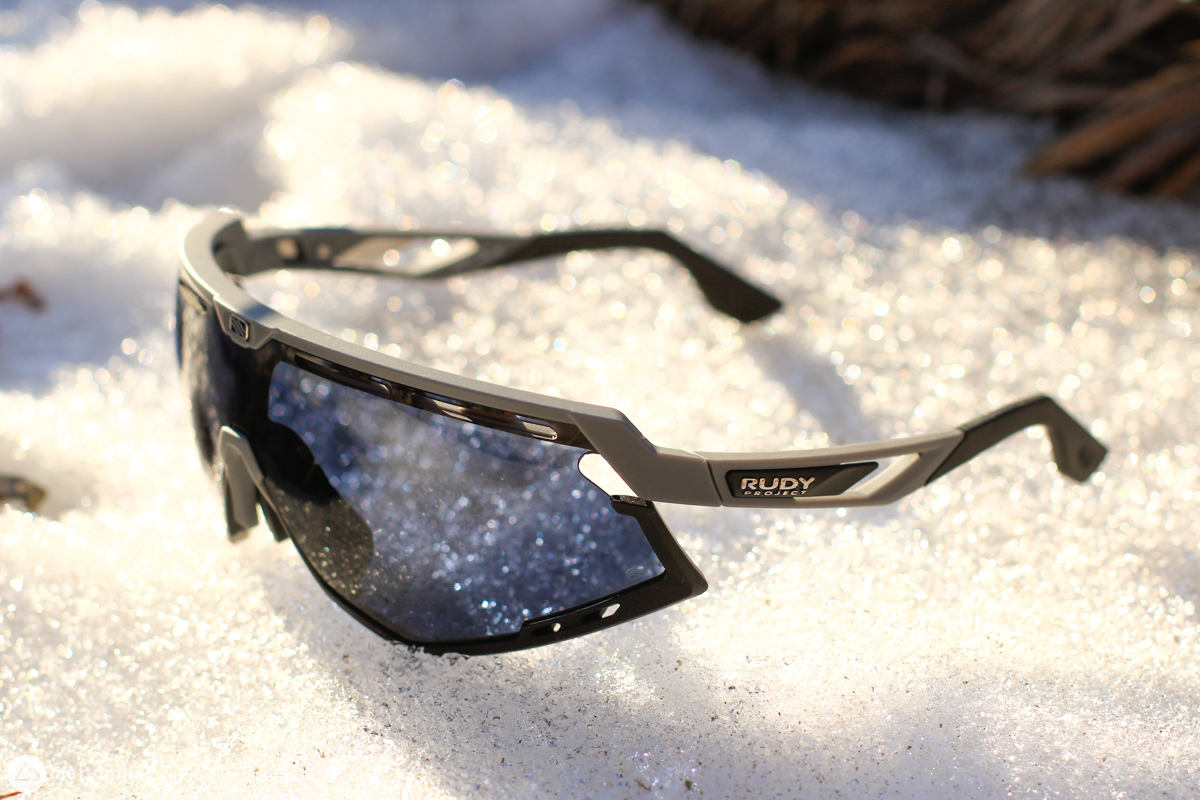 The Rudy Project Defender Glasses Work From Sun up to Sun Down - Singletracks Mountain Bike News