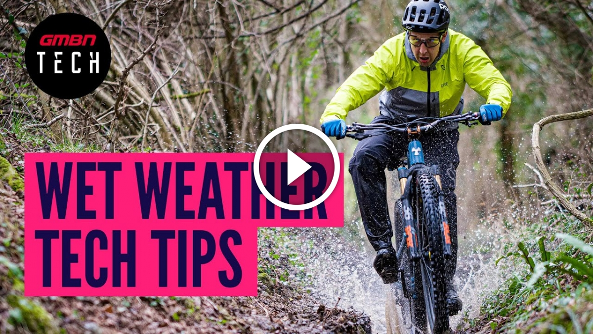 Wet Weather Mountain Bike Hacks and Tech Tips for the Rain [Video] - Singletracks Mountain Bike News