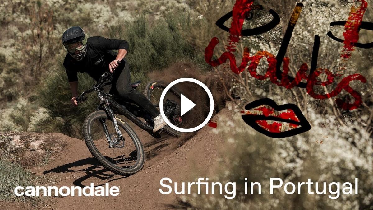 Cannondale Waves Crew: Bike Surfing in Portugal [Video] - Singletracks Mountain Bike News