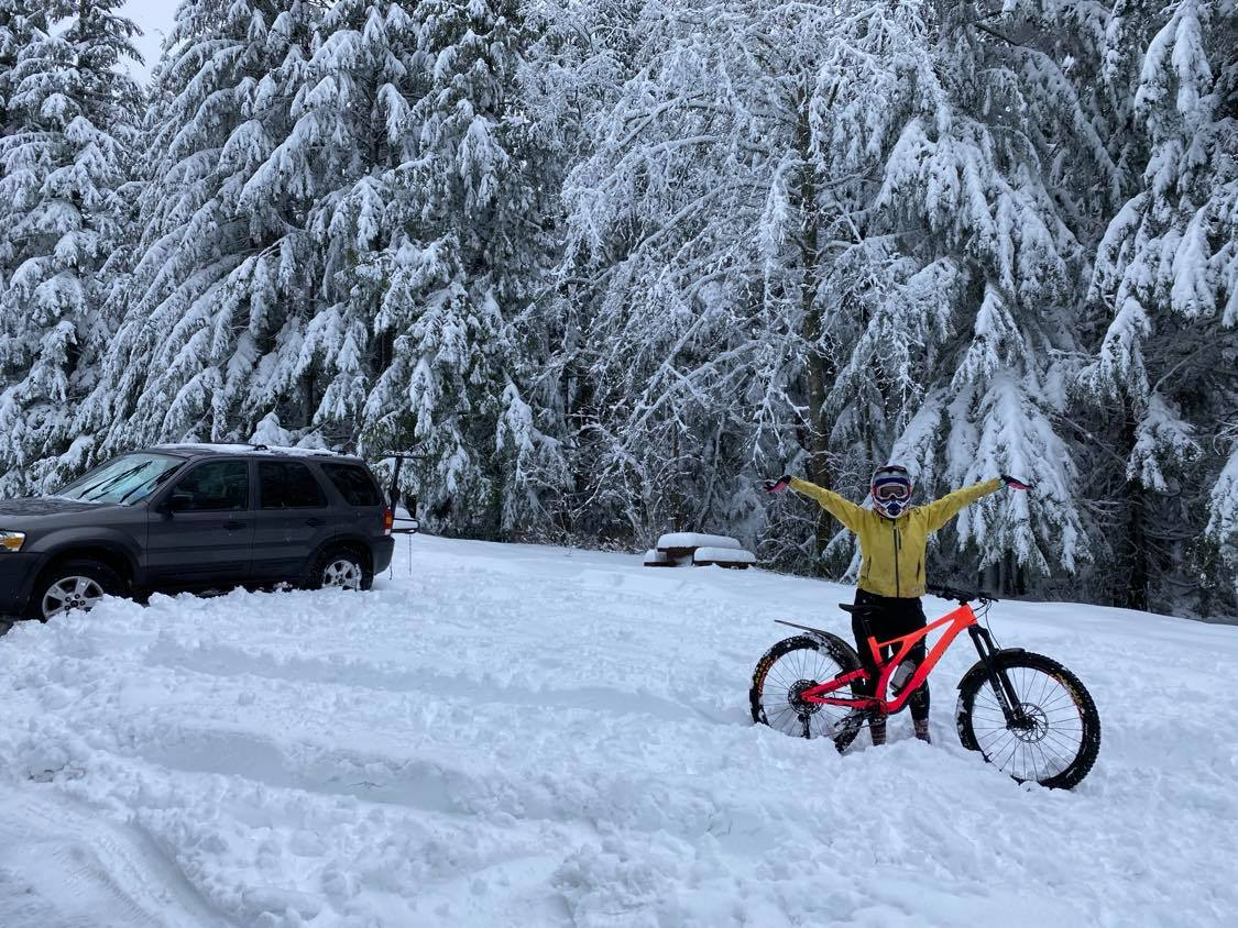 Why We Love Mountain Biking in the Snow - Singletracks Mountain Bike News