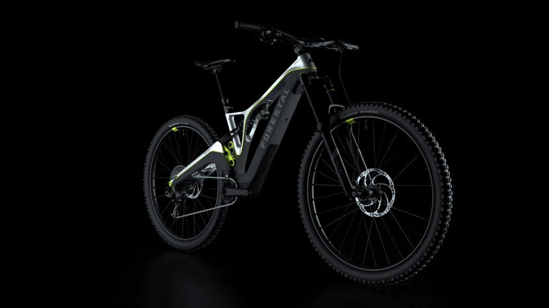 The New Forestal Siryon Electric Mountain Bike has an Integrated Smart Dashboard Screen - Singletracks Mountain Bike News