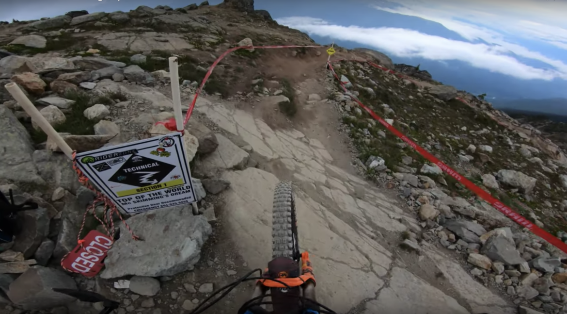 A True Mountain Biker's Indoor Trainer Challenge: Keep Your Head up and Eyes on this POV Video for 22 minutes - Singletracks Mountain Bike News
