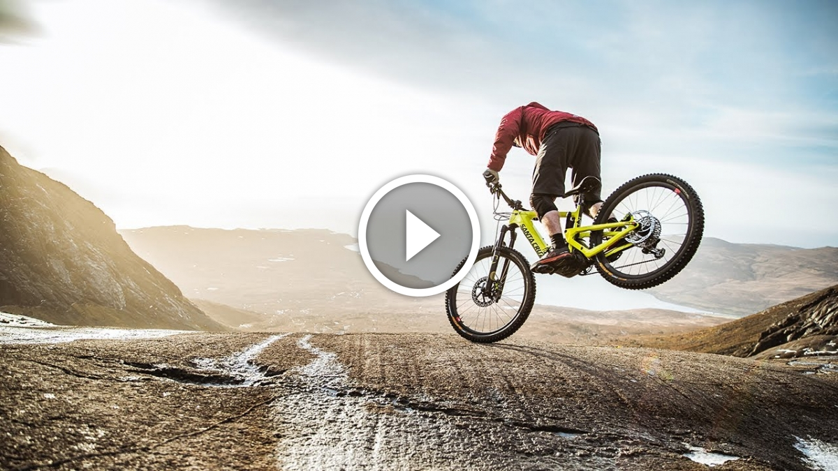 Danny Macaskill rides the new Santa Cruz e-bike [Video] - Singletracks Mountain Bike News