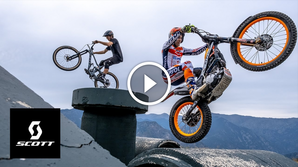 MTB vs. Moto in the Game of Bike with Antoine Buffart [Video] - Singletracks Mountain Bike News