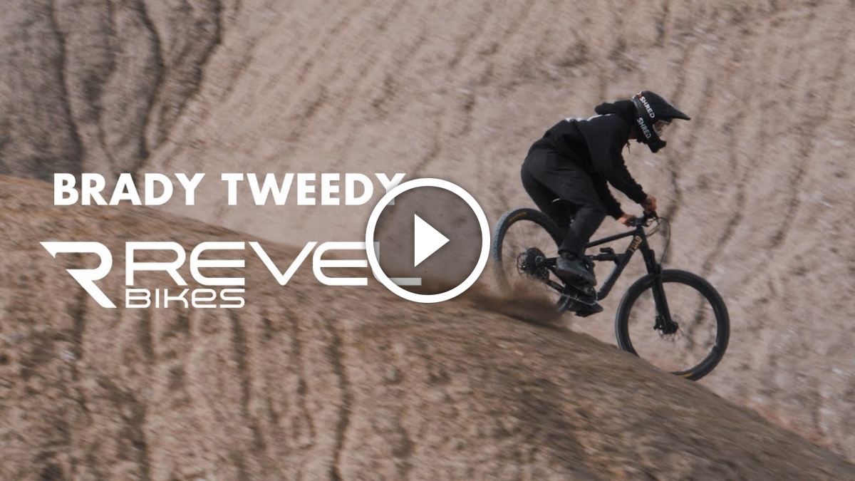 Brady Tweedy is Seriously Styling on his Revel Bike [Video] - Singletracks Mountain Bike News