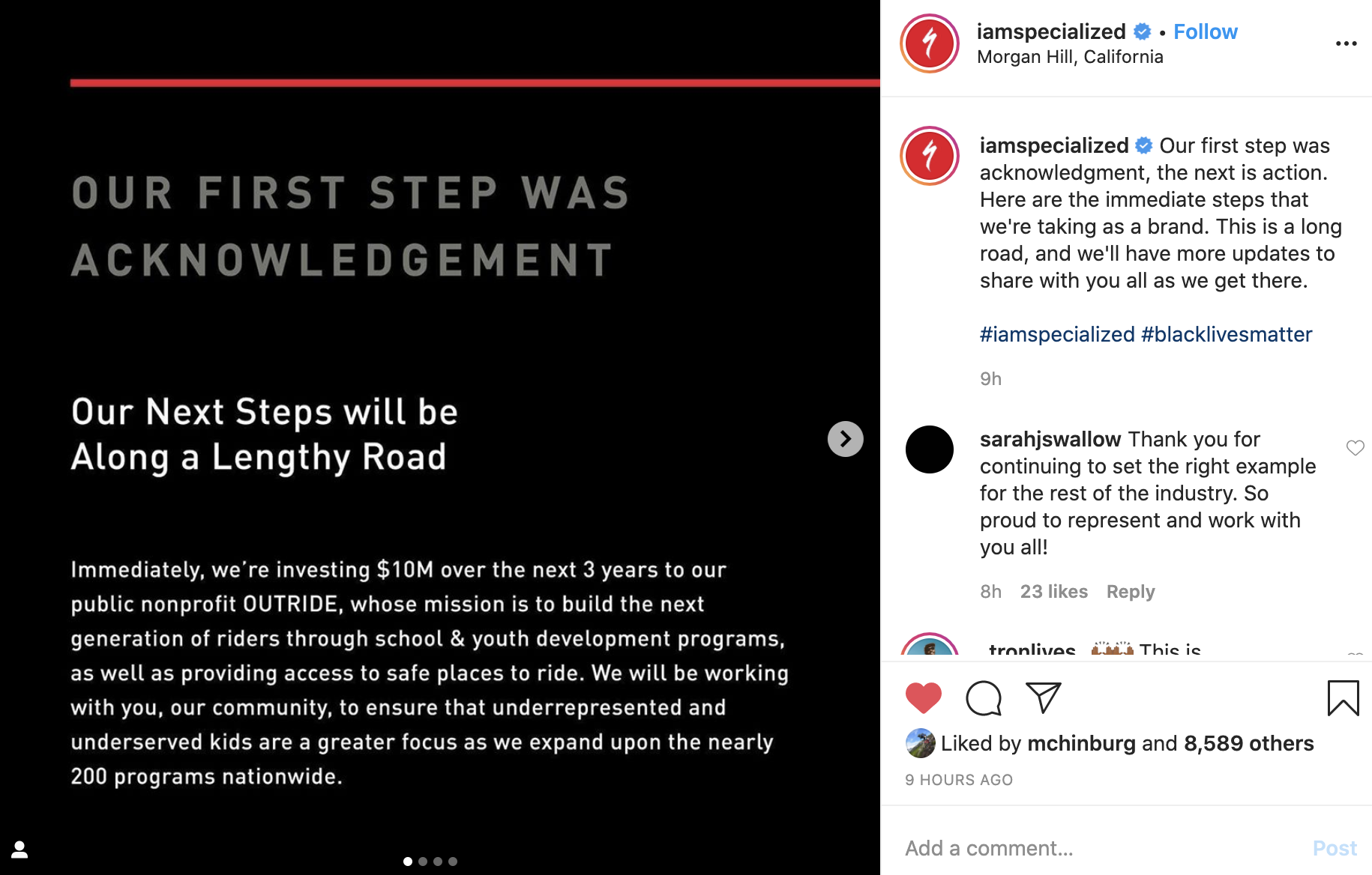 Specialize and SRAM Pledge Financial Investments to Create Diversity in Cycling - Singletracks Mountain Bike News