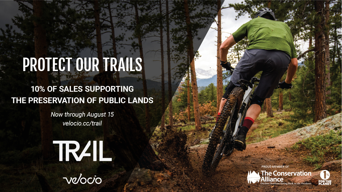 Protect The Trails with Your Velocio TRAIL Collection Purchase - Singletracks Mountain Bike News